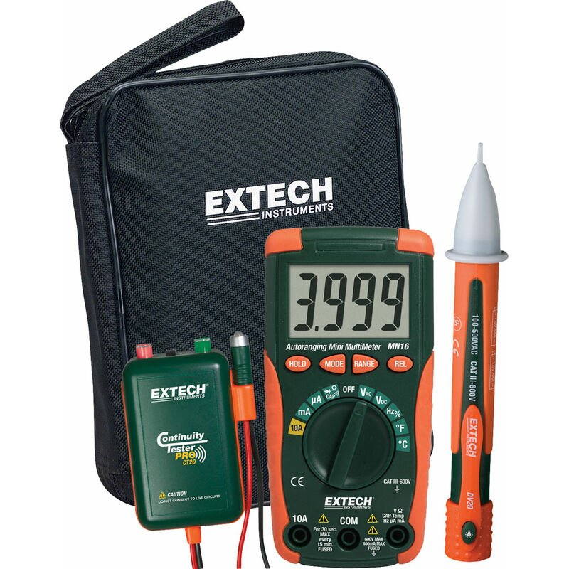 Image of MN16KIT-EU Digital Multimeter - Extech