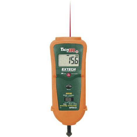 Extech RPM10 Drehzahlmesser mechanisch, optisch 0.5 - 19999 U/min 10 - 99999 U/min Q59824