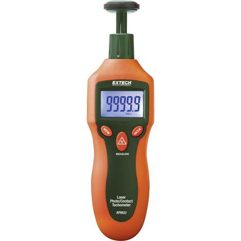 Extech RPM33 Drehzahlmesser mechanisch, optisch 2 - 19999 U/min 2 - 99999 U/min Q835801