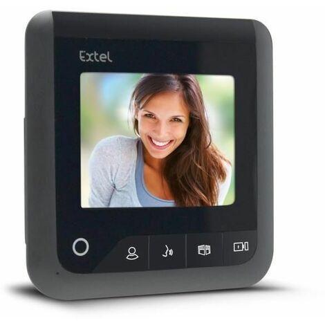 EXTEL Moniteur 4 Visio+ 2 fils supplémentaires pour les visiophones Levo Access, Nova, Ice