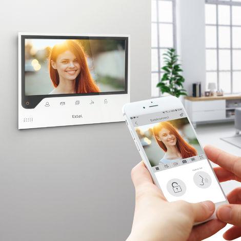 """EXTEL - Visiophone filaire connecté à votre smartphone écran 7"""" - CONNECT"""