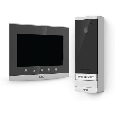 Extel - Visiophone wave sans fil connecté 350 m maxi 7 - 720313 - TNT