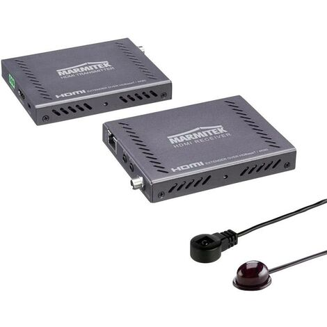 Extender HDBaseT (rallonge) Marmitek MegaView 141 UHD 08342 HDMI™ câble réseau RJ45 Portée (max.):70 m 1 pc(s) D635871