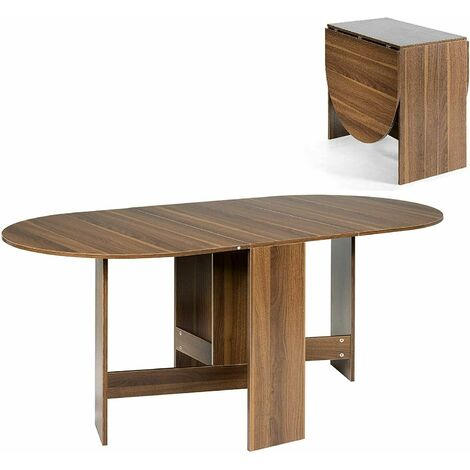 """main image of """"Extending Dining Table Wooden Study Workstation Home Office Drop Leaf Desk"""""""