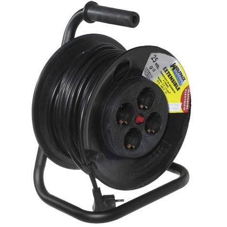 Extensible Electrico Maurer 25m 3X1,5MM Con Rearme