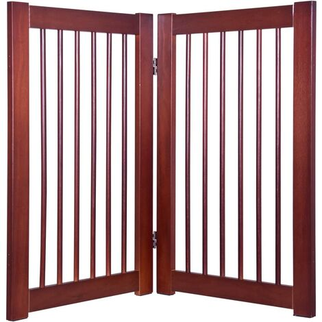 Extensión de Barrera de Seguridad Extensión con 2 Paneles para Barrera Plegable