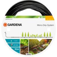Extension de tuyau à goutteurs incorporés de surface 4.6mm (3/16p) GARDENA 1362-20