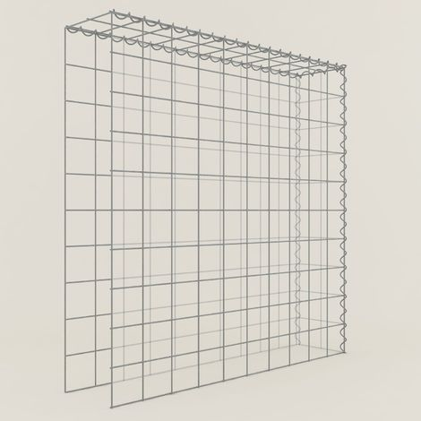 Extension gabions 11211-4 - 100 x 100 x 20 cm