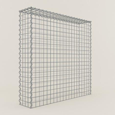 Extension gabions 11255-3 - 100 x 100 x 20 cm