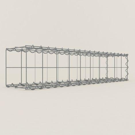 Extension gabions 12211-2 - 100 x 20 x 20 cm
