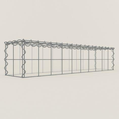 Extension gabions 12211-3 - 100 x 20 x 20 cm