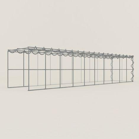 Extension gabions 12211-4 - 100 x 20 x 20 cm