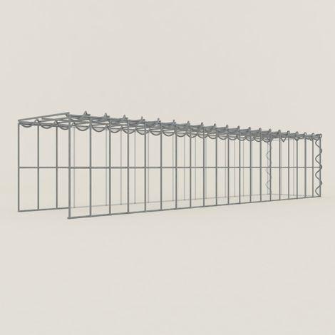 Extension gabions 12251-4 - 100 x 20 x 20 cm