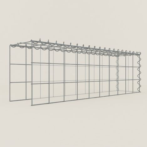Extension gabions 13211-4 - 100 x 30 x 20 cm