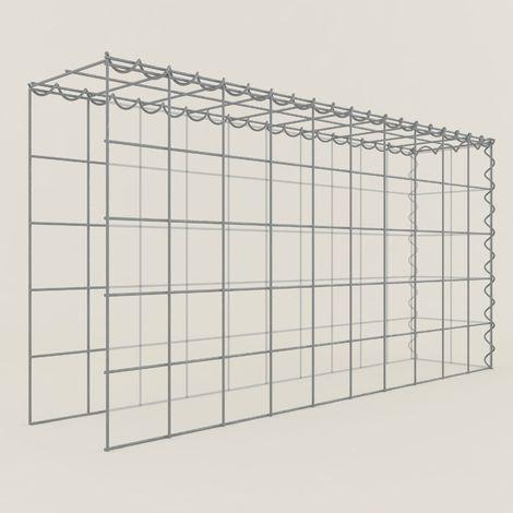 Extension gabions 15211-4 - 100 x 50 x 20 cm