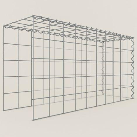 Extension gabions 15311-4 - 100 x 50 x 30 cm