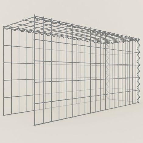 Extension gabions 15351-4 - 100 x 50 x 30 cm