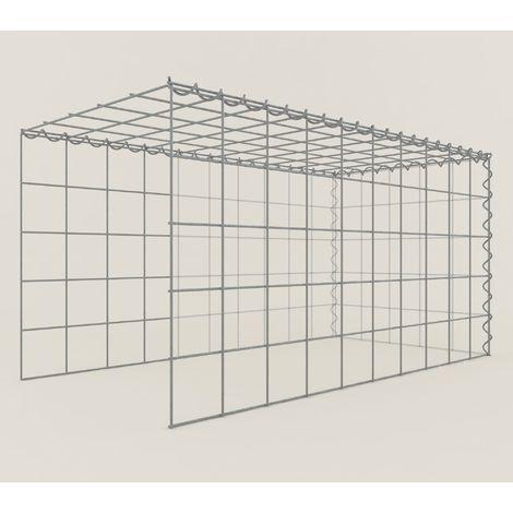 Extension gabions 15511-4 - 100 x 50 x 50 cm