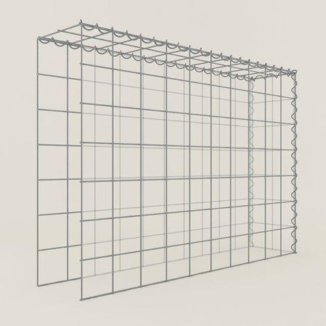 Extension gabions 17211-4 - 100 x 70 x 20 cm