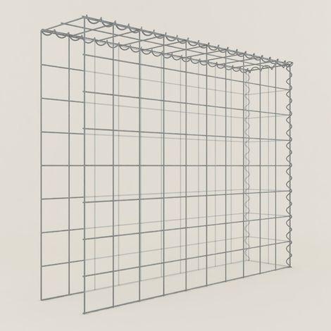 Extension gabions 18211-4 - 100 x 80 x 20 cm