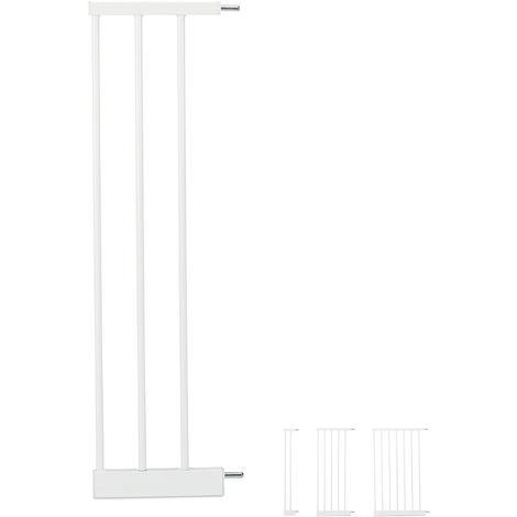 Extensión para barreras de seguridad L, Conector, Ancho de 20 cm, Blanco