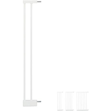 Extensión para barreras de seguridad M, Conector, Ancho de 10 cm, Blanco
