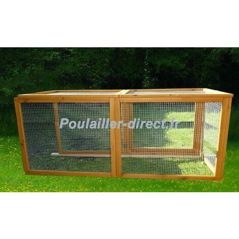 Extension Poulailler Orloff Xl - L140 cm x l58cm x H38cm