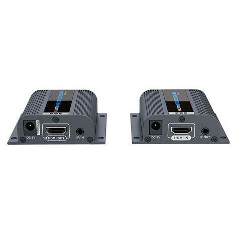 Extensor HDMI 1080p Por UTP RJ45 PoE 40m