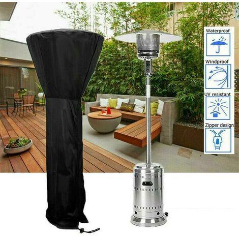 extérieur patio couvert de chauffage au gaz Jardin étanche à la poussière de protection parapluie couverture parapluie