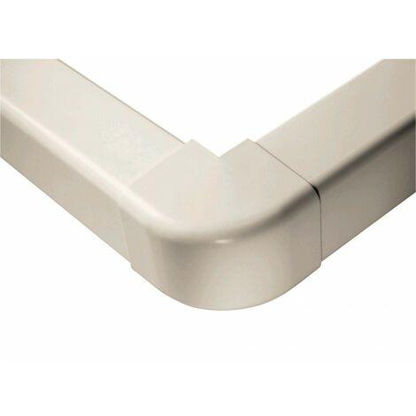 Extérieurs d'angle 90° 110 mm blanc pur