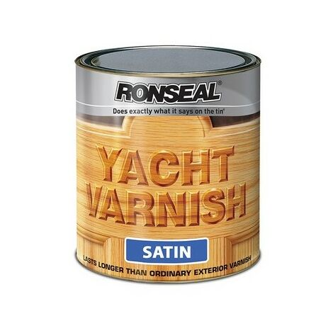 Exterior Yacht Varnish