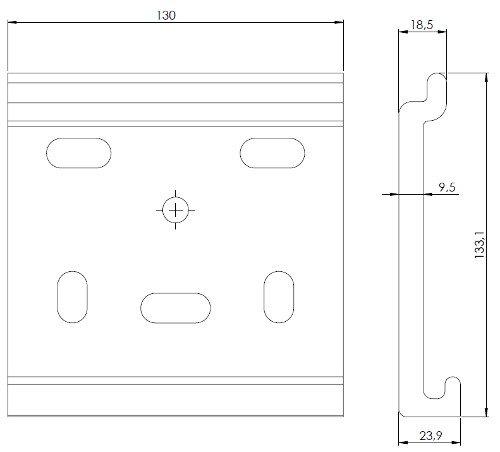 support façade cotes
