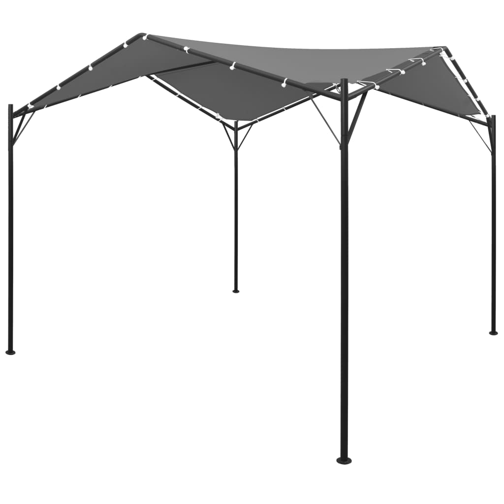 Camera Da Letto 4X4 gazebo 4x4 m antracite -