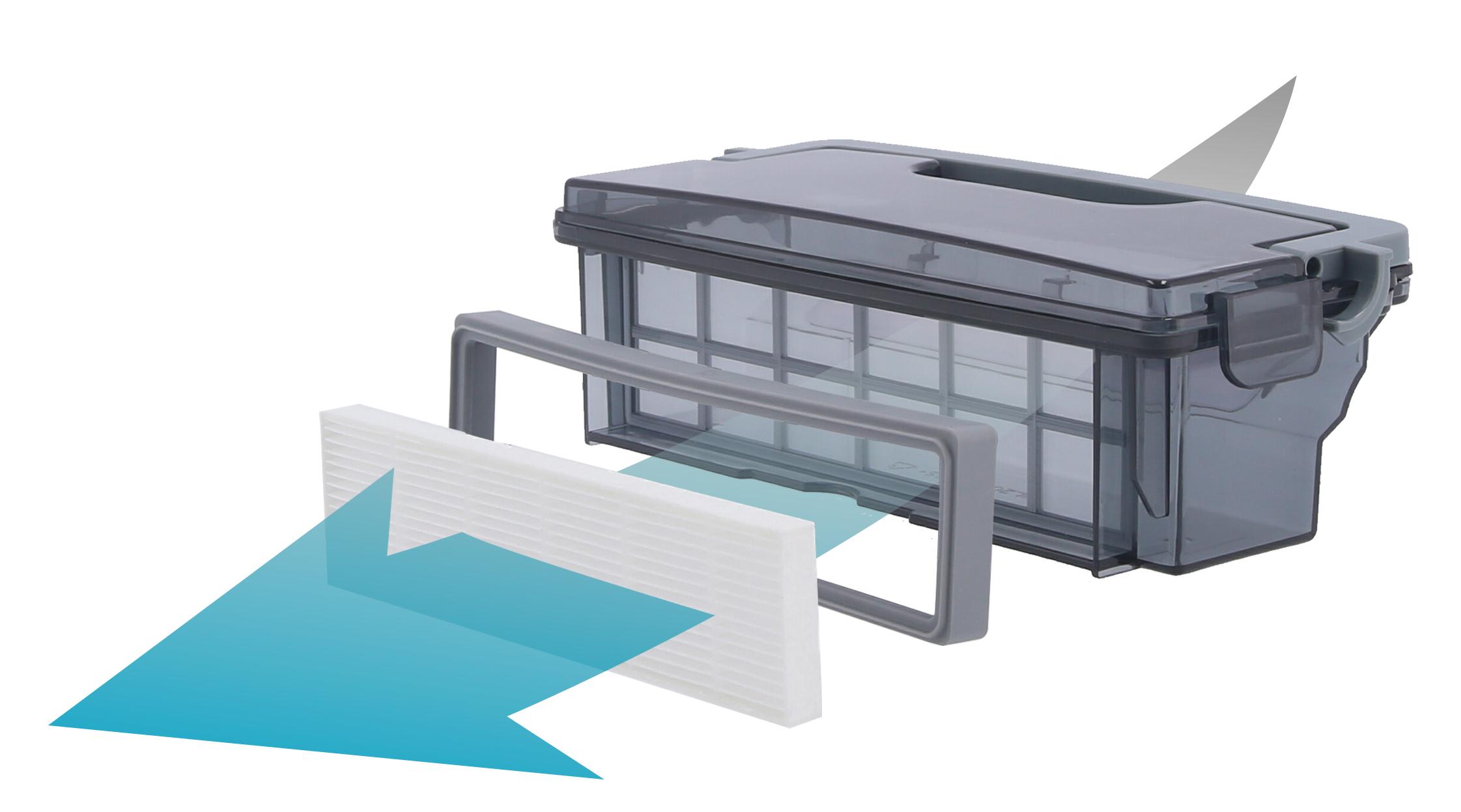 Robot aspirateur AMIBOT Prime 2 filtration efficace HEPA