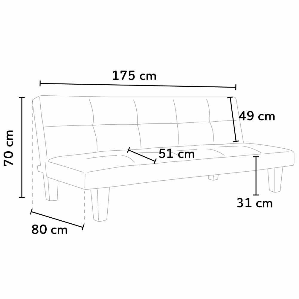 sofa bed onice