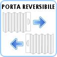 Box e porta reversibile