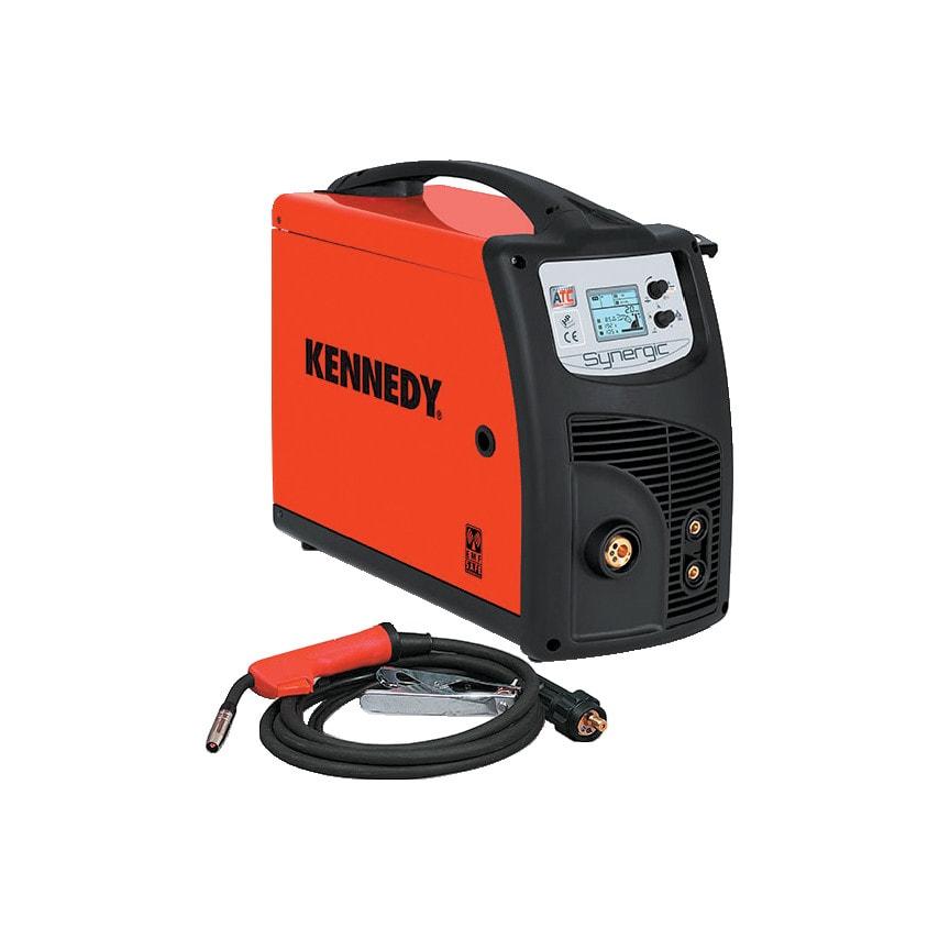 Kennedy Lion Dual Synergic 220A MIG/TIG/MMA multi-process welder with MIG accessories - 230V/16A
