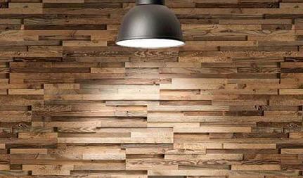 installation panneau bois