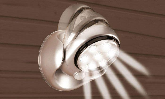 Lampe LED Sans Fil avec Détecteur de Mouvement 360°