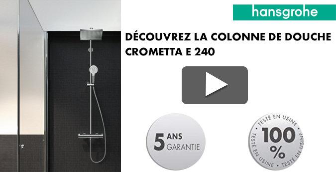 Vidéo présentation colonne de douche Crometta e 240