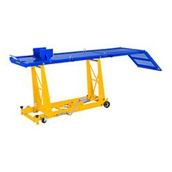 Table élévatrice moto - 450 kg - 220 x 68 cm - 1