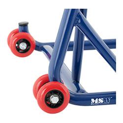 Béquille d´atelier roue arrière - Pour monobras oscillant - Avec axe de 27,5 mm - 2