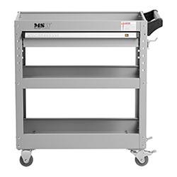 Servante d´atelier - 3 plateaux - 1 tiroir - 200 kg max. - 5
