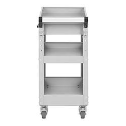 Servante d´atelier - 3 plateaux - 1 tiroir - 200 kg max. - 6