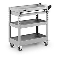 Servante d´atelier - 3 plateaux - 1 tiroir - 200 kg max. - 1