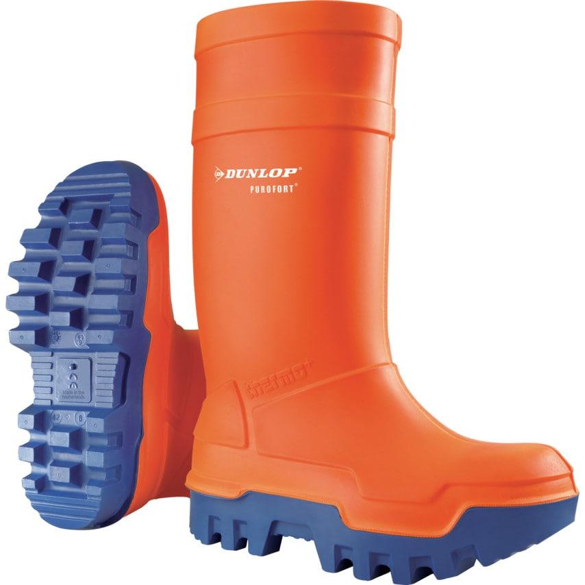 Dunlop Purofort Thermo+ Orange/Blue Boot Size 12 (47)