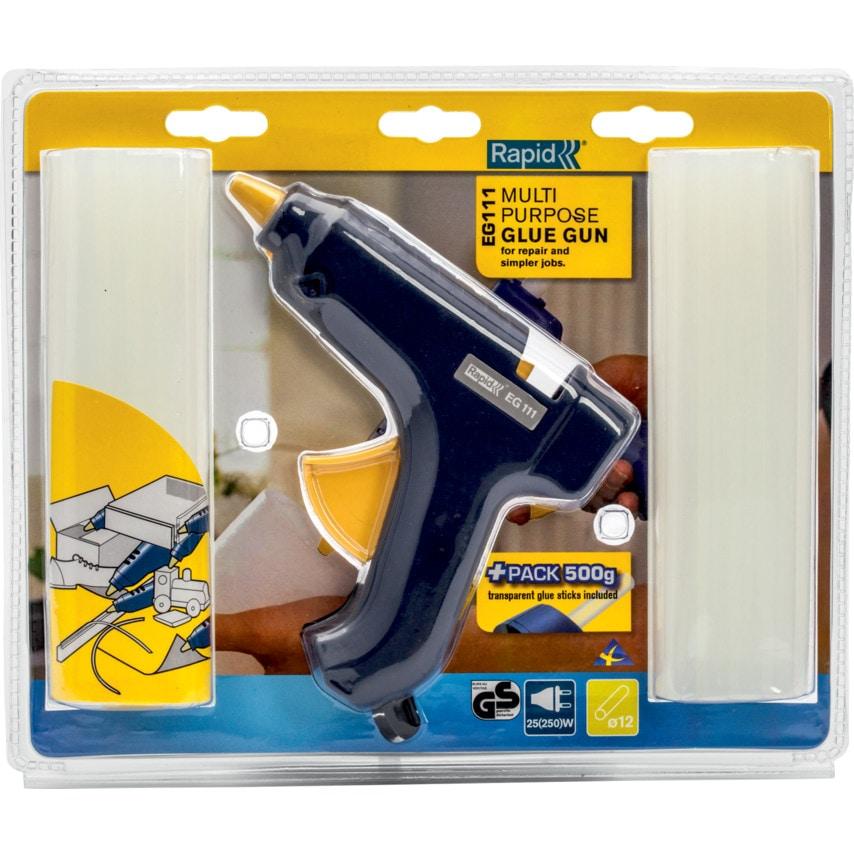 Rapid EG111 Glue Gun + 22 Glue Sticks