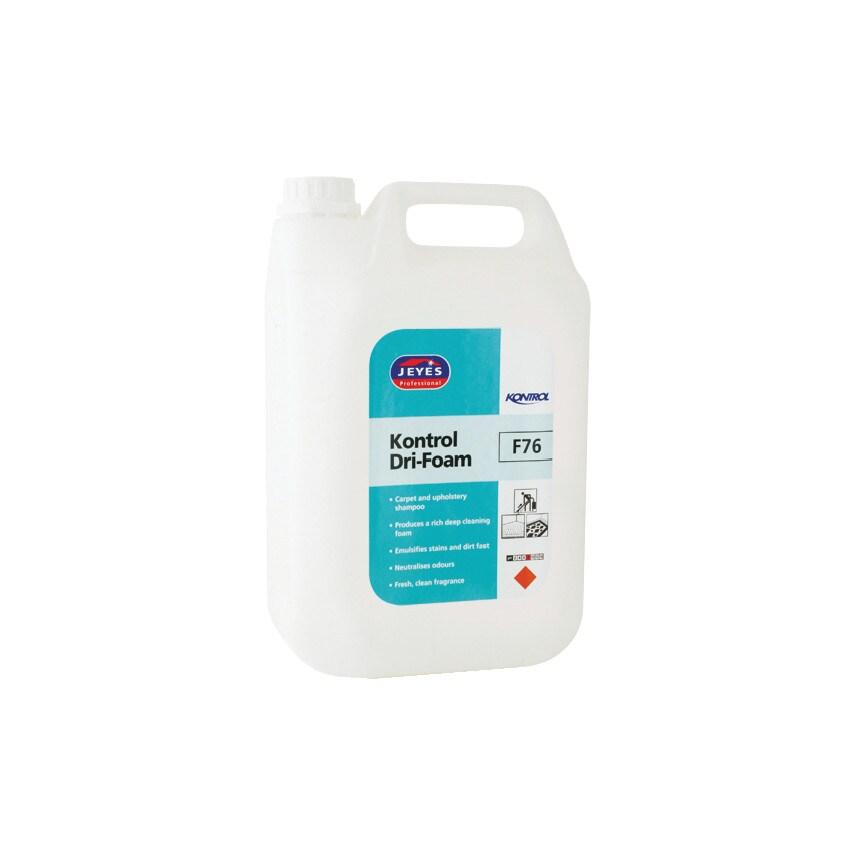 Jeyes F76 Kontrol Dri-Foam Carpet Cleaner 5LTR