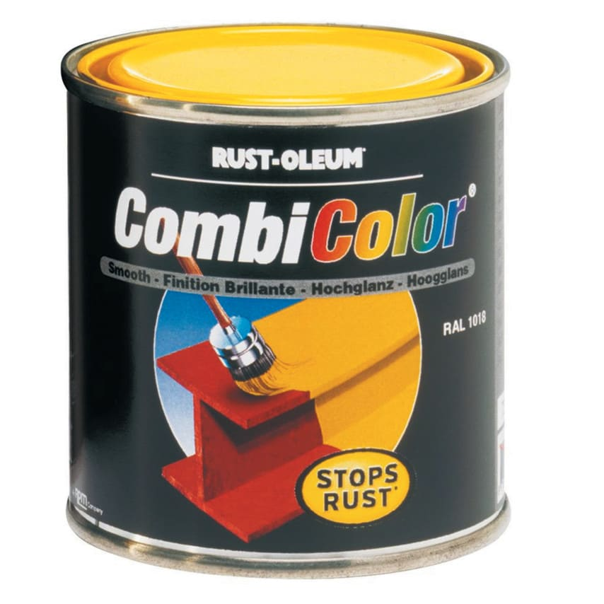 Rust-oleum 7336 Emerald Green Combi-colour Primer And Topcoat 750ml RAL6001