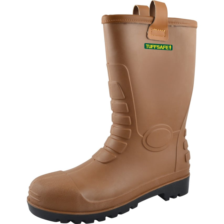 Tuffsafe Rigger Boot S5 Lined W/Resist S5 RAT08 Size UK 5